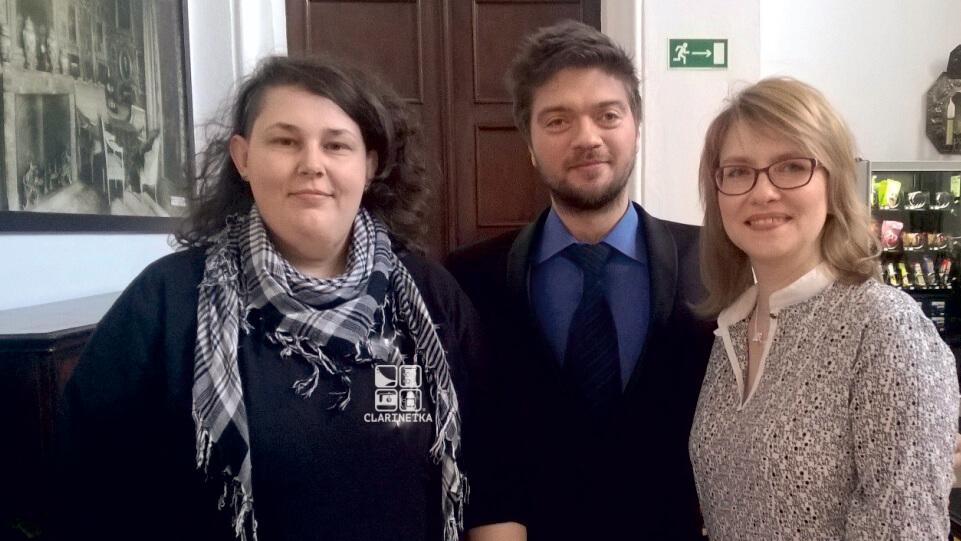 Clarinetka, Konrad Wolak i Joanna Zathey