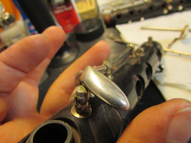 Renowacja klarnetu przed i po - BRAND MARTIN FRERES SUPRA 5