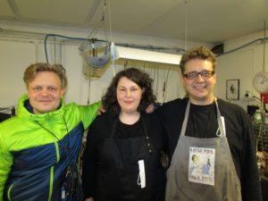 25 Chrostoffer Sundqvist, Clarinetka and Timo. Winter 2015r. first visit