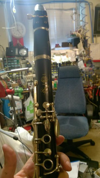 26 Selmer Centered Tone in A from about 1953 r