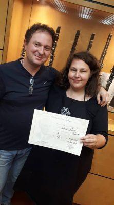 Clarinetka i Sébastien Fontaine